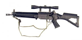 SIG 551 W/scope and foldable stock ( short barrel )