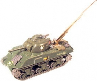 Sherman tank with pen built in