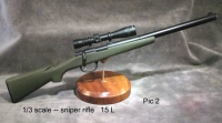 1/3 scale military sniper rifle