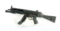 MP5- With tac light and solid stock