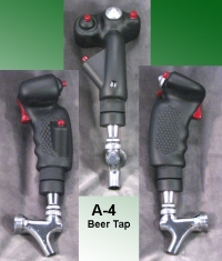A-4 stick grip as Beer Tap