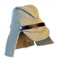 Japanese cloth cap with tropical flaps