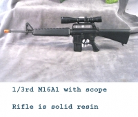 M16A1 with new style scope Resin