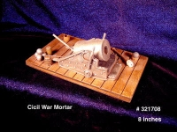 "Cannon "" Civil War Mortor """
