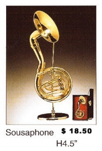 Miniature Musical Instruments - Sousa Phone
