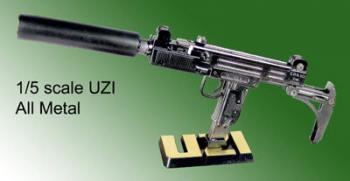 1/5 th scale UZI all metal