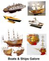 Nautical Ships & other items
