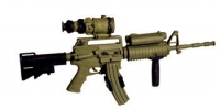 M-4 W/PVS-4 scope & Lazer & w/spare mag