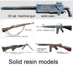 Solid resin guns ----- full size