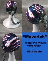 "Top Gun "" Maverick"" Helmet 1/6 th"
