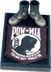 POW / MIA with boots memorial