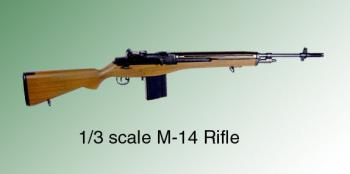 1/3 rd scale M-14 Rifle