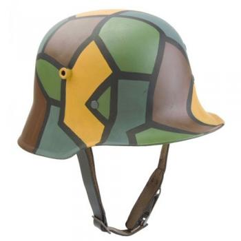 WW1 German Camo helmet