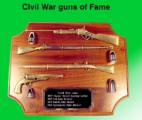 Civil War Guns of Fame and their ammo