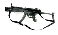 MP5- A3 With tac light and sliding stock