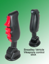 Bradley Vehicle Weapons control grip