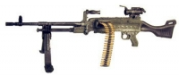 M-240 machine gun w/Aim point ML2 scope