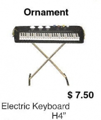 miniature Electric keyboard