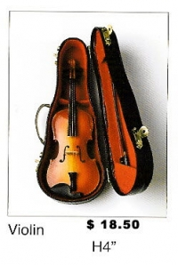 Miniature Musical Instruments - Violin