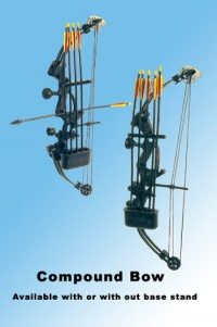 working compound bow and arrow set