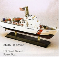 U.S. Coast Guard Patrol boat 16 inches