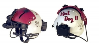 Fire Dept helicopter pilot helmet ( red & white )