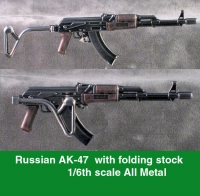 Russian AK-47 with folding stock ALL METAL