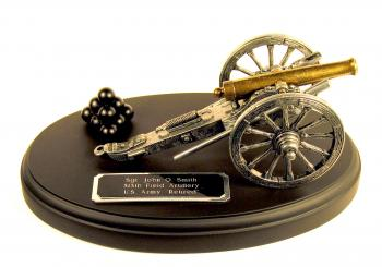 od time cannon on black wood base