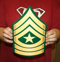 US Army Sergeant Major rank