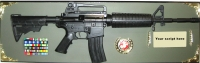 M4 rifle award full size