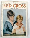 WW1 vintage Red Cross magazine November 1917