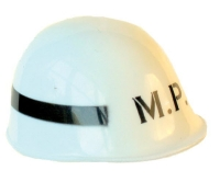 MP (Military Police) white helmet