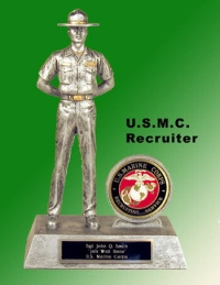 U.S. Marine Corps Recruiter award