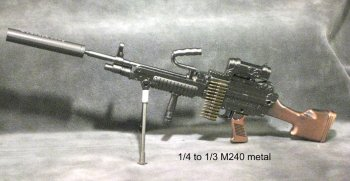 1/3 scale M240 machine gun