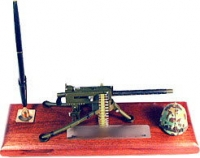 30 cal machine gun air cooled / helmet