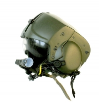 Apache helicopter pilot helmet
