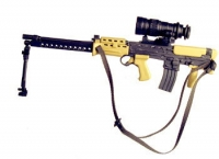 British L86A1 With IFR night scope