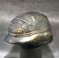 1/4 scale kevlor helmet in bronze