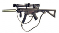 MP5-SD2 w/silencer and Mil Spec scope