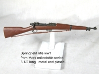 WW1 Springfield rifle Marx collectable