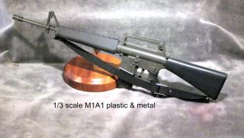 1/3 scale M1A1 rifle-- metal