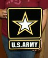 US Army star logo square