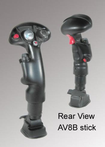 AV8B Harrier stick grip