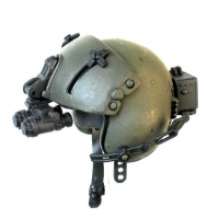Helicopter pilot helmet /night scope