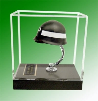 U.S. Army MP helmet with acrylic cover