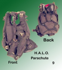 HALO Parachute All Brown color