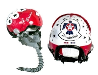 "USAF ""Thunderbirds"" helmet only no stand"