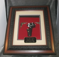 Aviation shadow box of stick grip