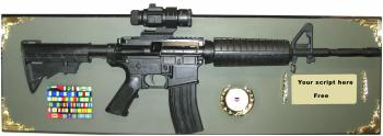 M4 with sight full size rifle