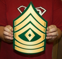 US Army First Sergeant rank